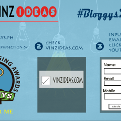 Bloggys2015: Vote for Vinzideas.com in Philippine Blogging Awards