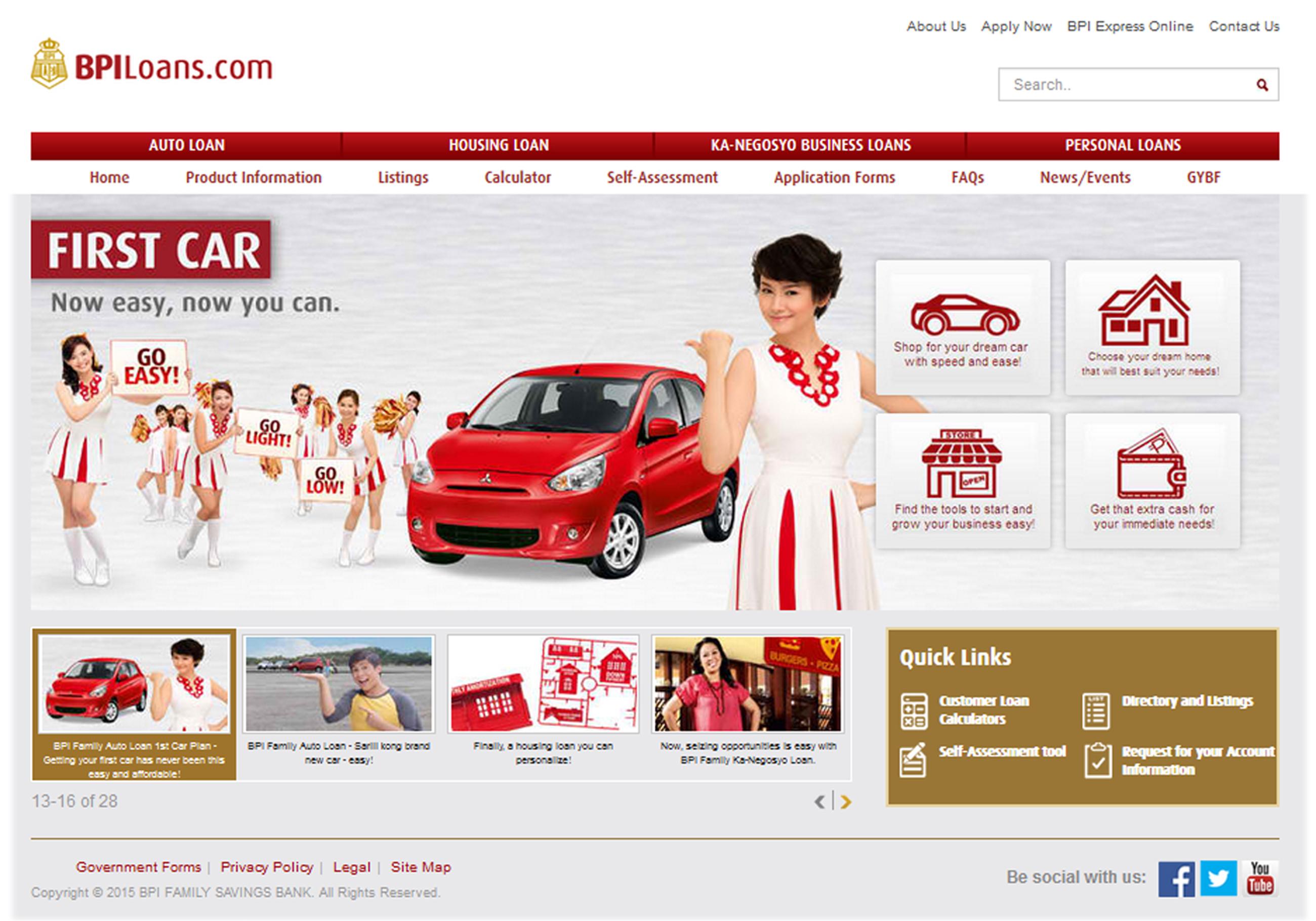 BPI car Loans