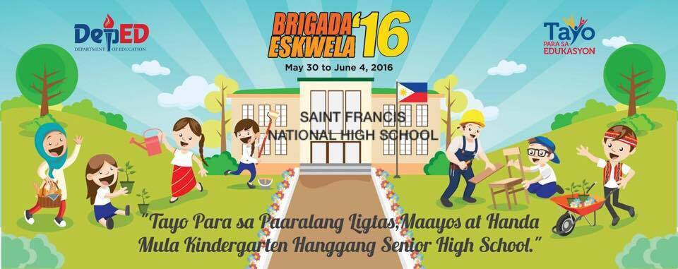 saint francis national high school binan