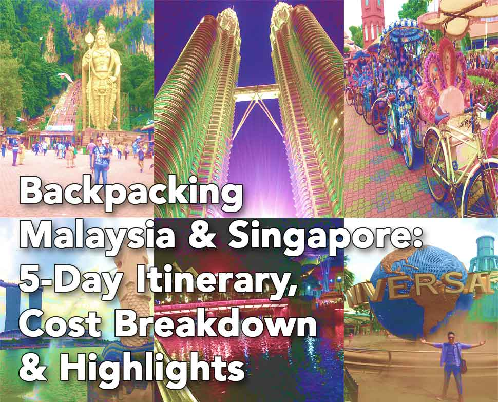 backpacking malaysia and singapore