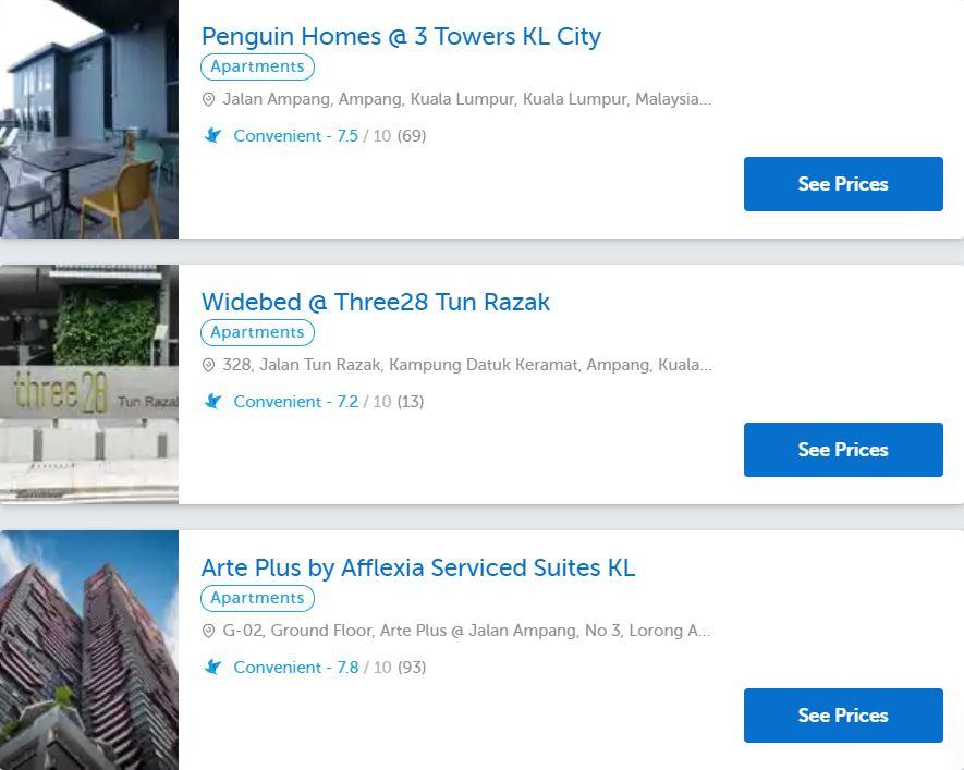 ampang apartments