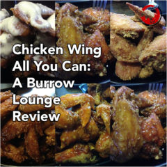 Chicken Wing All You Can: A Burrow Lounge Review