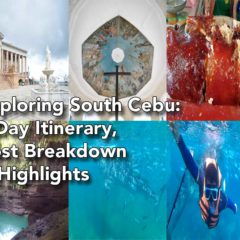 Exploring South Cebu: 4-Day Itinerary, Cost-Breakdown and Highlights