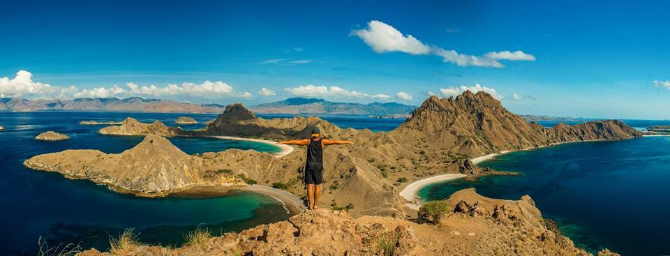 padar island indonesia, asia