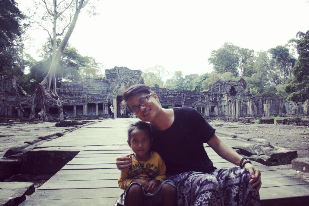 angkot wat cambodia asia