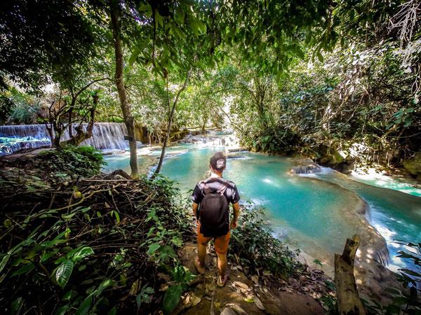 Kuang Si Waterfalls laos asia