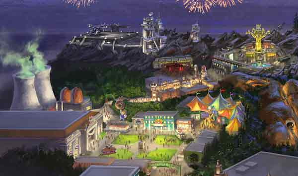 century fox themed park