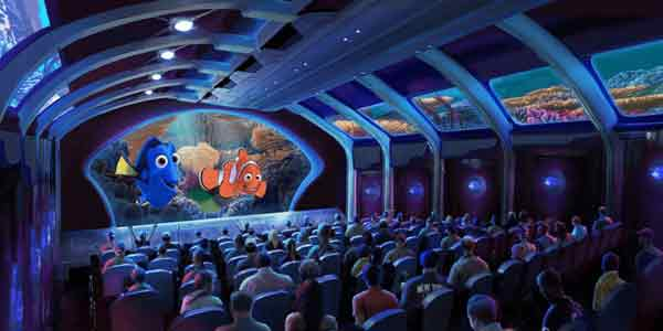 finding nemo themed park
