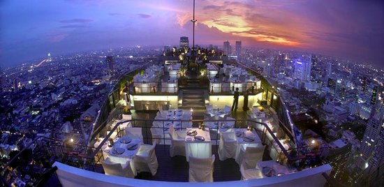 Vertigo Rooftop Bar at Banyan Tree Bangkok