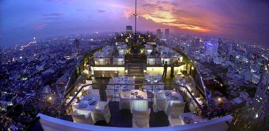 Vertigo Rooftop Bar at Banyan Tree Bangkok