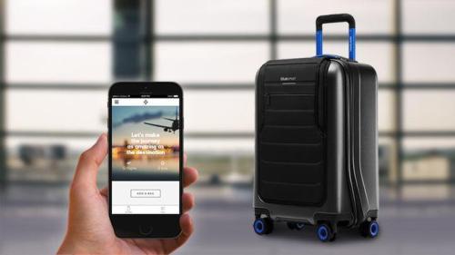 Bluesmart One-smartphone Controlled Luggage