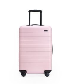 Pop & Suki x Away Pink Suitcases collection