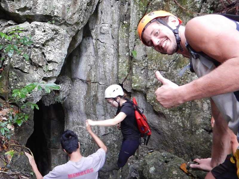 cebu caving